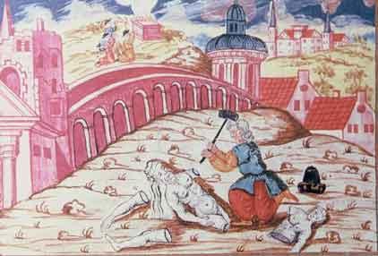 Abraham breaks the idols of Terah