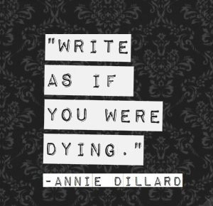 WriteLikeDying