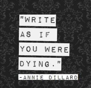 WriteLikeDying