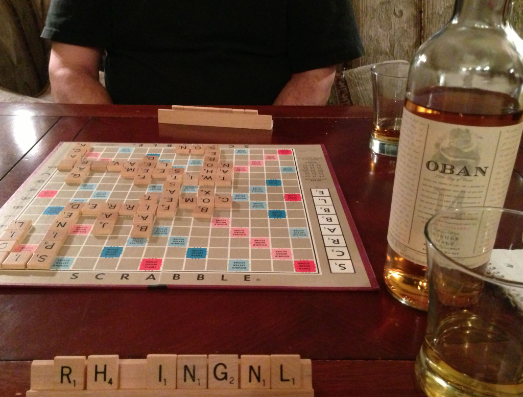 Scrabble and Scotch