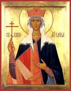 Saint Helen, who found the true cross of Christ
