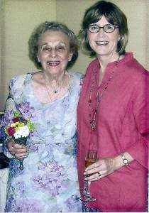 Urania and me at her grandson, Andrew's, wedding in 2005