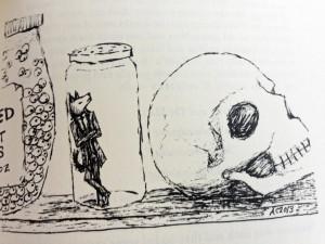 werewolf in jar