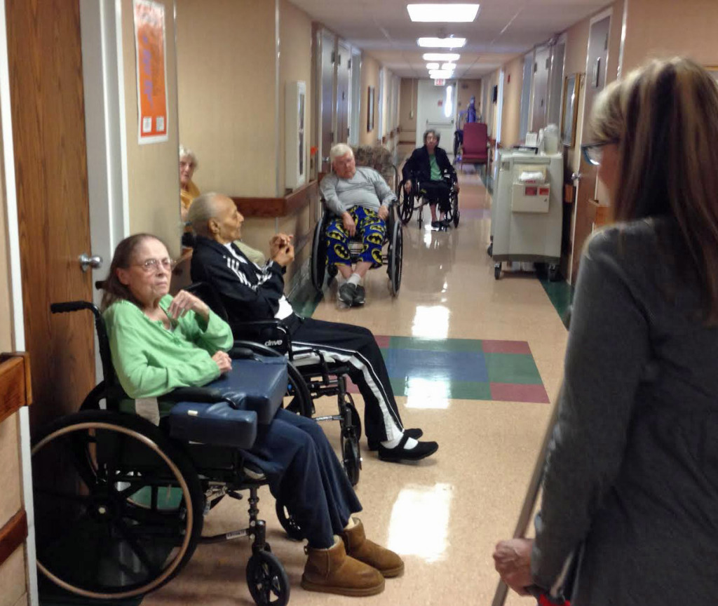 Visiting Mom in the nursing home