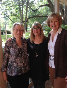 P.T. Paul, Susan and Ren Hinote of the Pensters Writing Group, Fairhope, Alabama