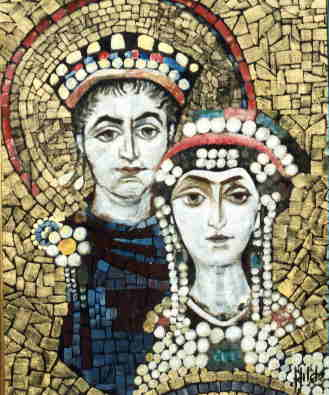 Justian and Theodora