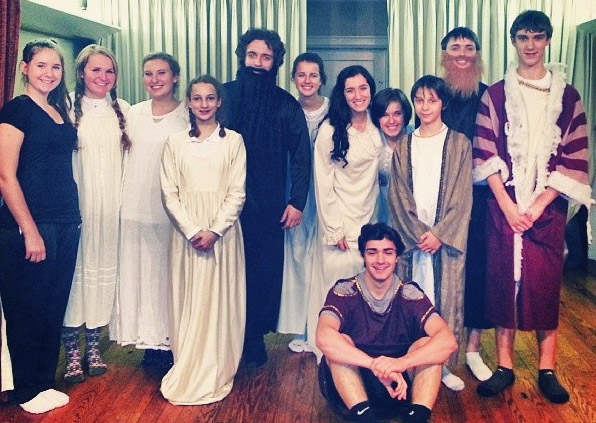 Cast of the 2013 St. Nicholas Play at St. John Orthodox Church