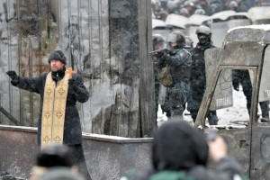 Ortohdox priest Kiev