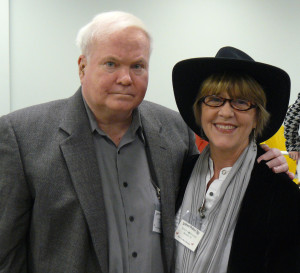Pat Conroy and me, January, 2010