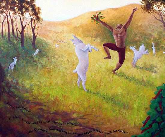 Dancing Goats by Jennifer Mac