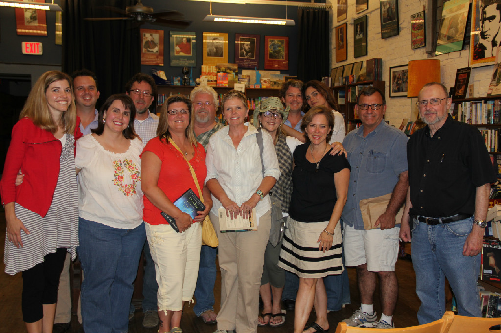 Participants at the 2012 Yoknapatawpha Summer Writers Workshop, Oxford, Mississippi