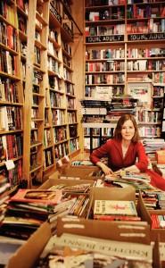 Parnassus in her Nashville book store, Parnassus
