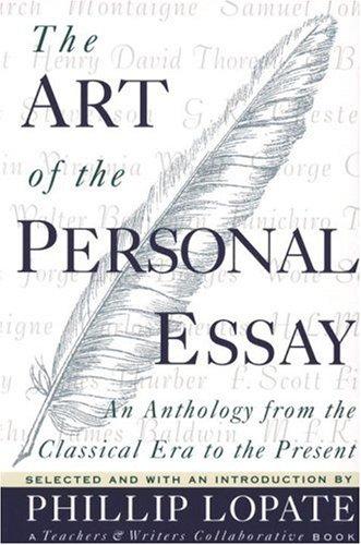 Art of Personal Essay