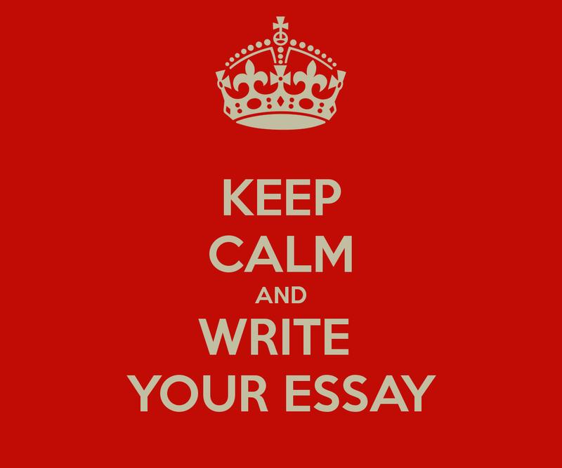 Keep Calm Write Essay