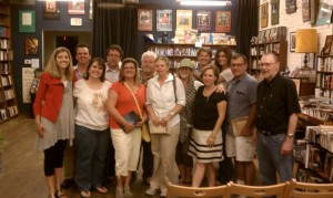 Workshoppers at the 2012 Yoknapatawpha Summer Writers Workshop enjoy a reading at Off Square Books in Oxford