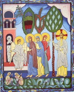 40-Myrrh-bearing women at the tomb