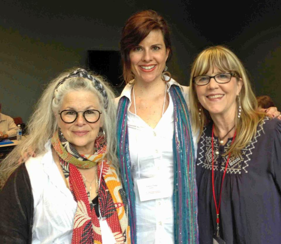 Nina, Alexis Paige and me at the 2013 Creative Nonfiction Conference in Oxford, Mississippi