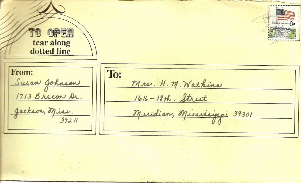 letter to Mamaw1969
