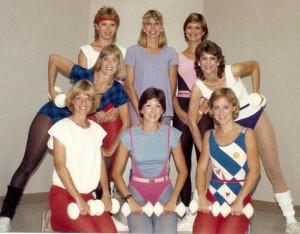 aerobics instructors 1985