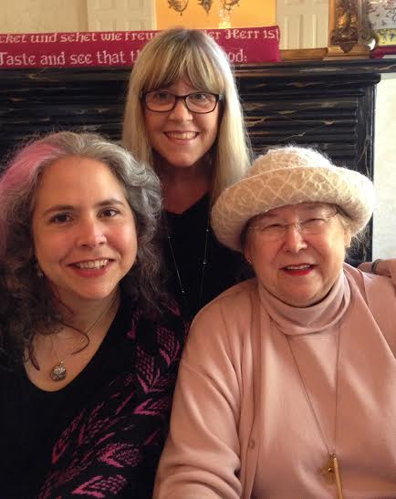 Joanna Campbell, me and Joanna Seibert at the book launch in Little Rock