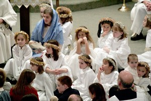 Christmas Eve Pageant Angels