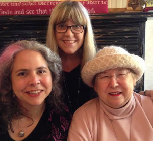 Visiting with the two Joannas in Little Rock in October