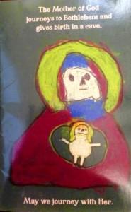 Cover art by Nicholas Moulton, age 4; haiku by Simon Moulton, age 9