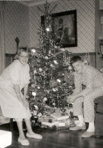 With my brother Mike in 1963