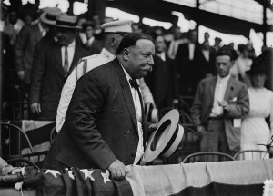 Some say President Taft started the seventh inning stretch...