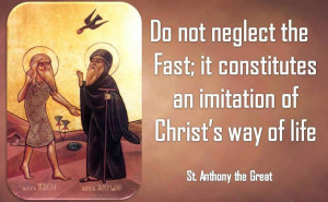 Anthony the Great-Fast-Coptic Orthodox