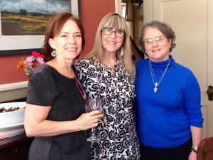 My dear friends Daphne and Sarah feted me with a birthday luncheon on Saturday!