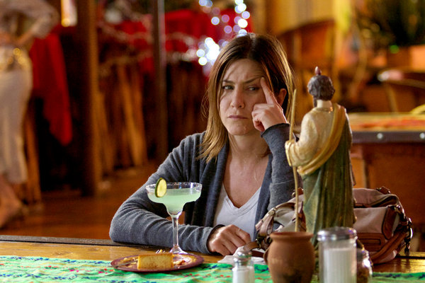 "Jennifer Anniston in the movie, ""Cake"""