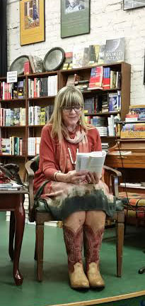 Susan reading at Square Books in Oxford, Mississippi
