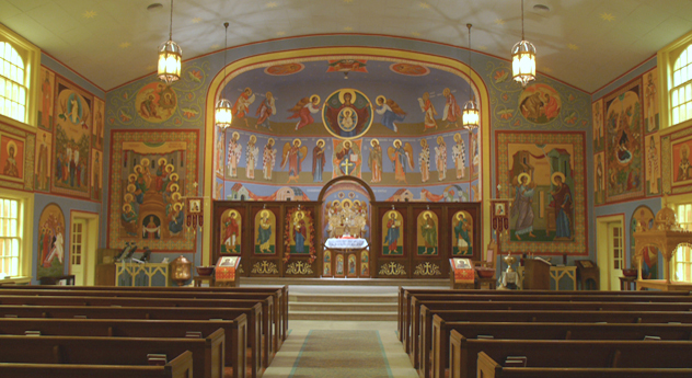 St. John Orthodox Church, Memphis, where I've been a member since 1988