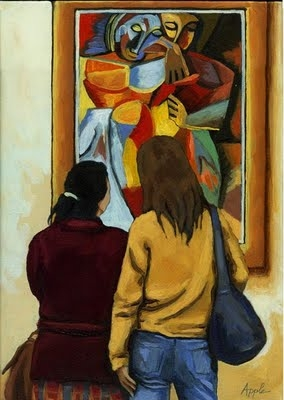 Picasso Women Friends by Linda Apple