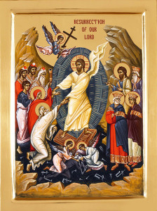 Orthodox icon of the Resurrection. Source: http://www.easterngiftshop.com/Item/IcFRes5