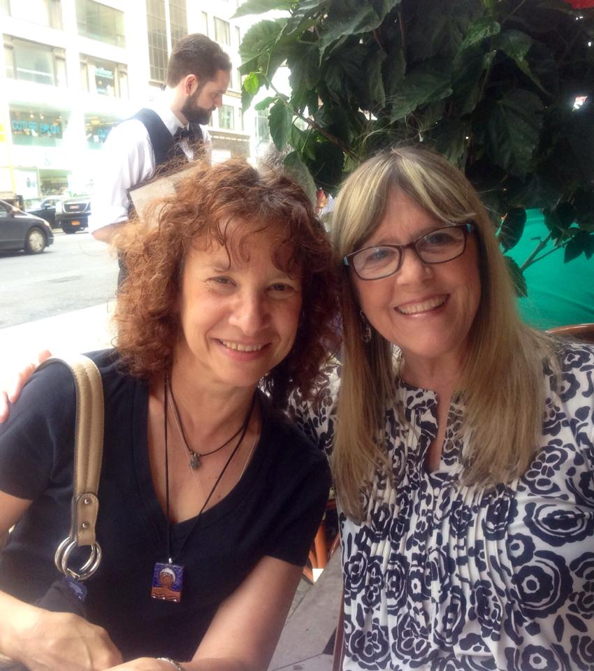 with Julie Stell at Rue 57 Saturday afternoon.