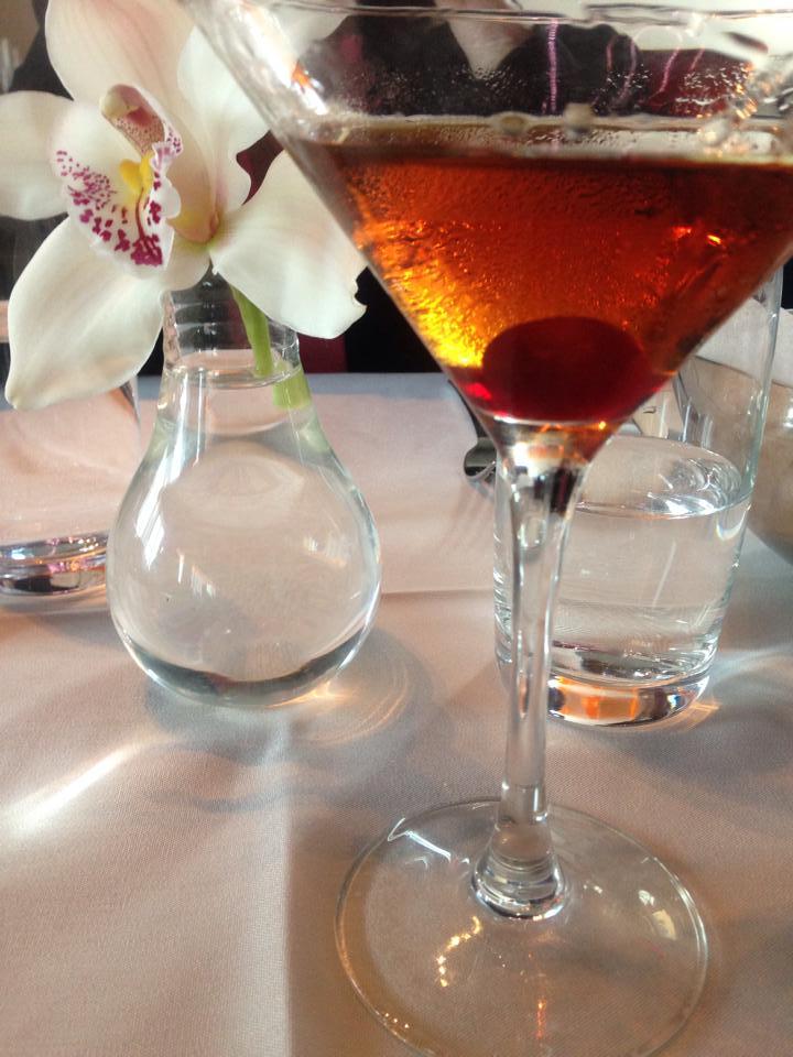 """Mad Mamhattan""... signature drink at Robert."