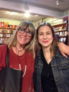 So fun to have Lori Hoepner from Brooklyn at the reading!