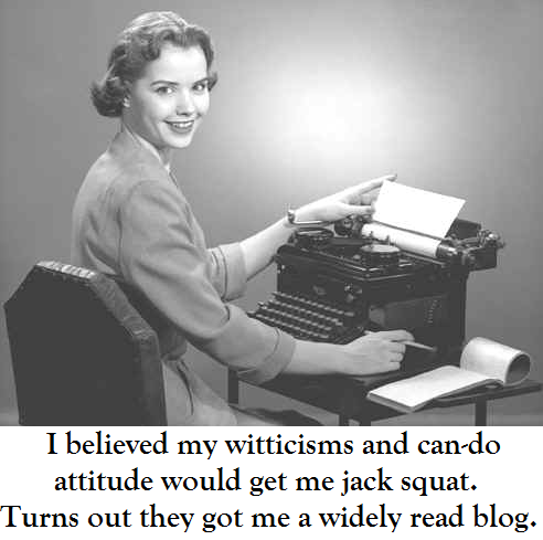 blogging-woman