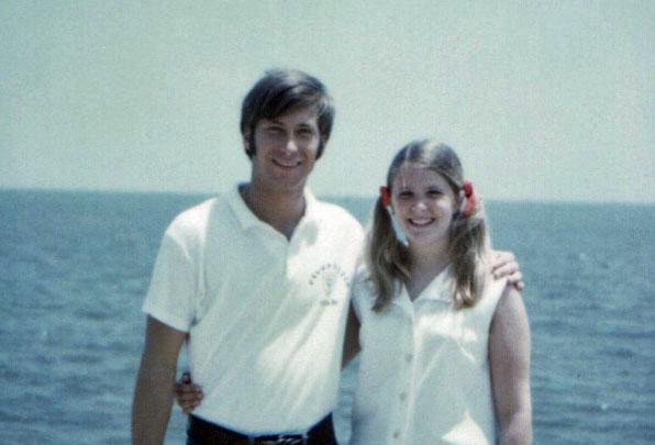Biloxi Beach, Mississippi, June 1970
