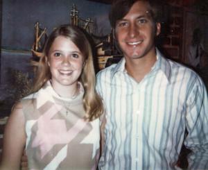 Dinner at Mary Mahoneys, June 14, 1970