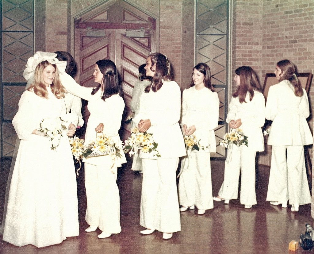 bride and maids 1970