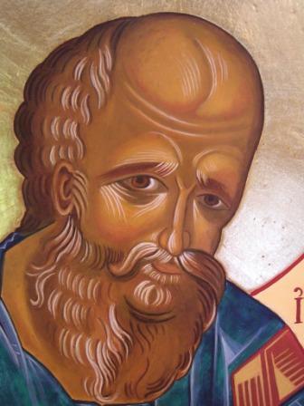 Saint John, detail