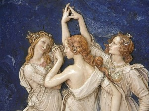 Three Graces by Sandro Botticelli