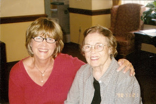 May, 2007, when Mom was still in an assisted living facility