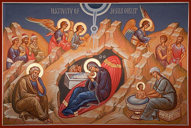 nativity-icon for FB cover