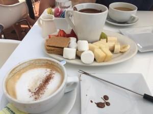 chocolate fondu