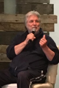 Jim Weatherly speaking at Oxford Writes