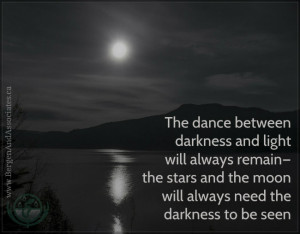 Carolyn Bergen http://www.bergenandassociates.ca/blog/post/774/small-light-big-darkness